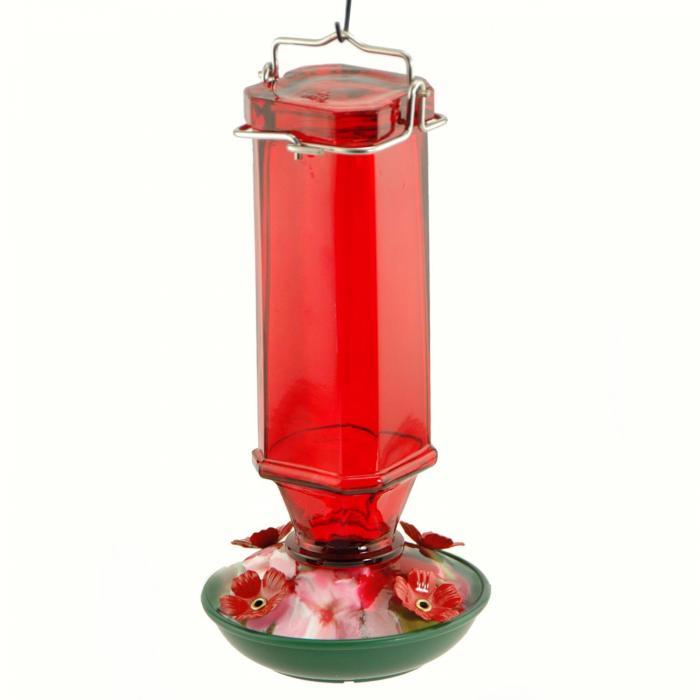 Woodlink Audubon Series 16 Ounce Vintage Spirits Hummingbird Bird Feeder