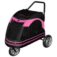 "Pet Gear Roadster Pet Strollers Black / Pink 33"" x 20"" x 21"""