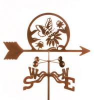 EZ Vane Butterfly & Flowers Weathervane