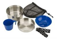 One-Person Stainless Steel Mess Kit