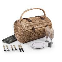Picnic Time Barrel Picnic Basket - Dahlia
