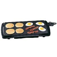 Presto Cool Touch Griddle (Black-low profile)
