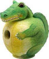 "Songbird Essentials Alligator ""Gord-O"" Birdhouse"