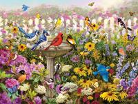 White Mountain Puzzles Birds of Summer 550 Piece Puzzle