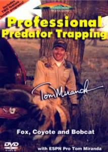 Stoney-Wolf Professional Predator Trapping with Tom Miranda DVD