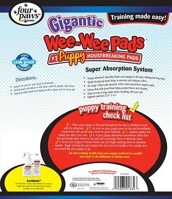 Wee Wee Pad Gigantic 8 Ct