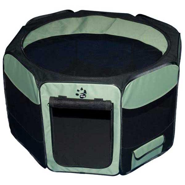"""Pet Gear Travel Lite Soft-Sided Pet Pen with Removable Top Sage 36"""" x 36"""" x 23"""""""
