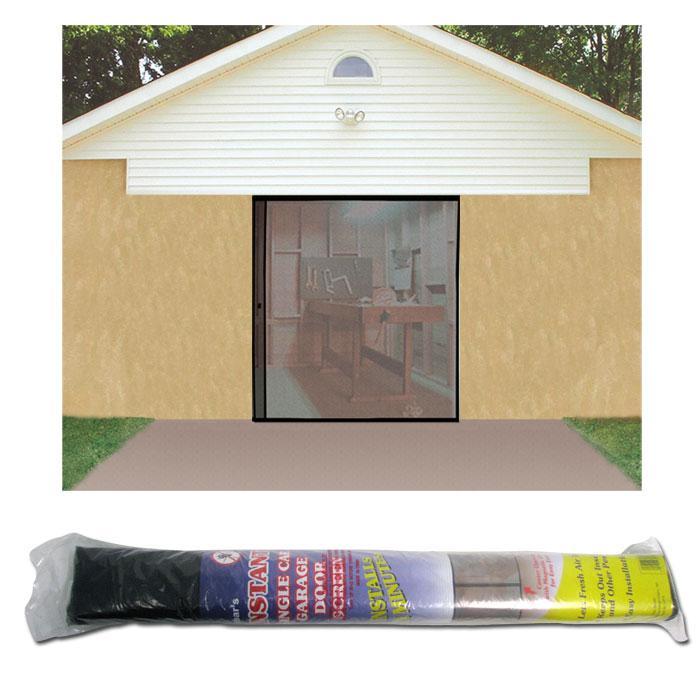 Single garage screen door - Single car garage door screen ...