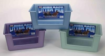 Ferret High Back Litter Pan