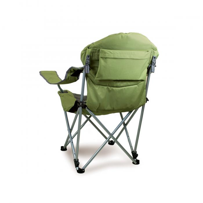 Picnic Time Reclining Camp Chair, Sage Green