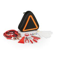 Picnic Time Roadside Emergency Kit (Black with Orange)