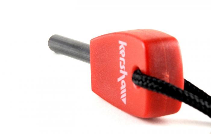 Kershaw Knives Fire Starter, Plastic Handle, Magnesium Steel