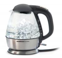 Chef's Choice 680 International Cordless Electric Kettle - Brushed Stainless Steel/Glass