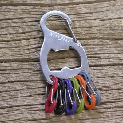 Nite-ize S-Biner Key Rack Bottle Opener - Stainless Steel