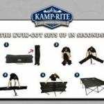 Kamp-Rite Double Kwik- Cot