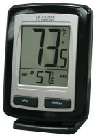 La Crosse Technology Wireless Weather Station Thermometer - Black