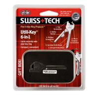 SwissTech Utili-Key, Solid Stainless Steel, Clamshell Box