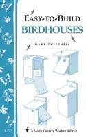 Workman Publishing Easy To Build Bird Houses