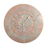 Whitehall Moon Thermometer - Copper Verdi