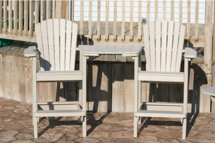 Bird's Choice Single Bar Height Chair-Sandstone