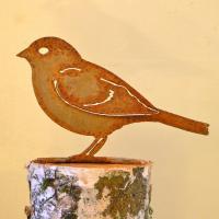 Elegant Garden Design Sparrow Bird Silhouette