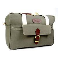 Boldric Big Apple Green Canvas Travel Bag