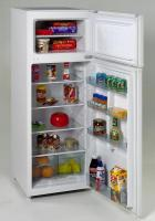 Avanti  7.4 CF Two Door Apartment Size Refrigerator - White