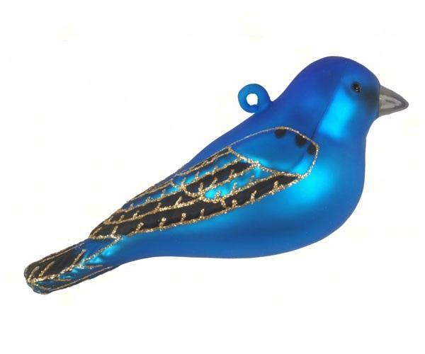 Cobane Studio Indigo Bunting Ornament
