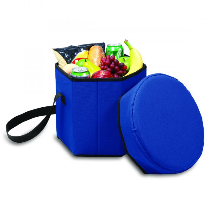 Picnic Time Bongo 12-Quart Collapsible Cooler, Navy