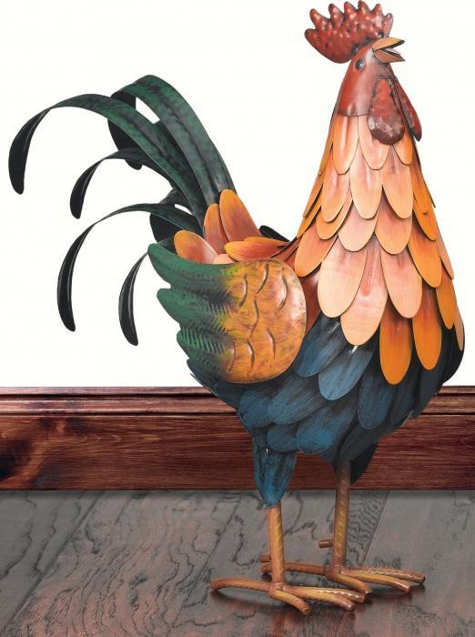 Regal Art & Gift Golden Rooster Decor, Medium