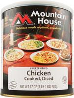 Mountain House Diced Chicken - 14 3/4 Cup Servings