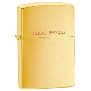 Zippo Regular Brush, Brass