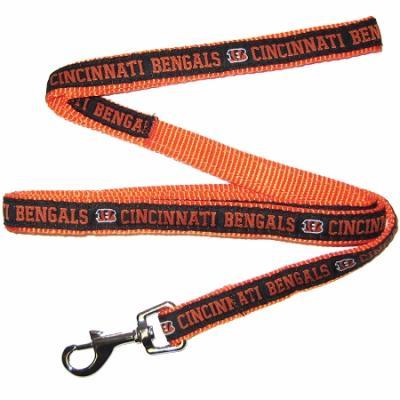 Cincinnati Bengals NFL Dog Leash - Medium