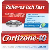 Cortizone Coritzone-10 Cream .5 Oz