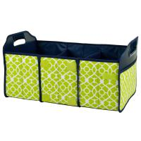 Original Folding Trunk Organizer by Picnic at Ascot - Trellis Green