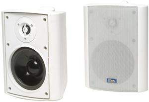 TIC Corporation AS P60W Indoor/Outdoor 60-Watt Speakers with 70-Volt Switching (White)