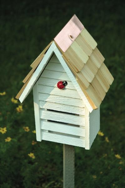 Heartwood Lady Bug Loft, White