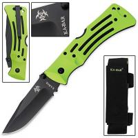 Ka-Bar Zombie Killer - Plain Edge Mule Knife