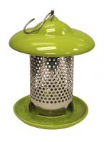 Heath Green Ceramic Bird Feeder