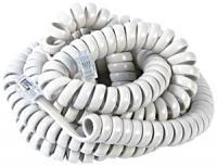 Rca TP280W 12-ft Handset Coil Cord (White)