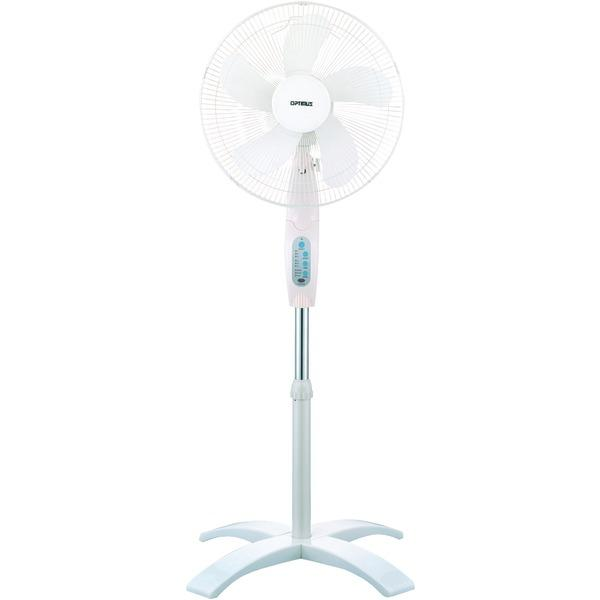 Optimus F-1760 16 Wave Oscillating Stand Fan (With Remote)