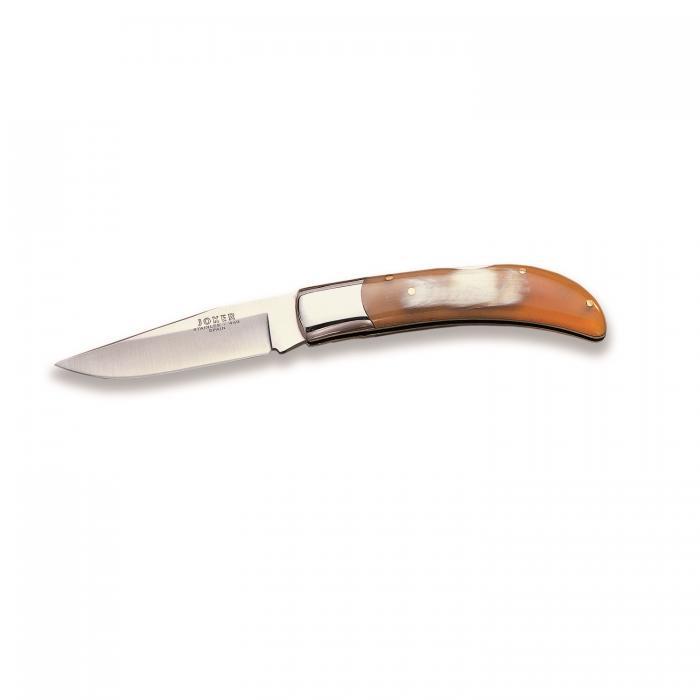 """Joker Knives Pocket Folding Bull Horn Handle Knife 3.51"""""""