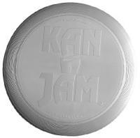 KanJam Flying Disc - Silver