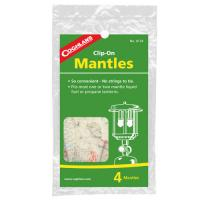Coghlan's Mantles- Clip Ons, Package of 4