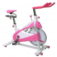 Sunny Health & Fitness P8150 Pink Belt Drive Premium Indoor Cycling Bike
