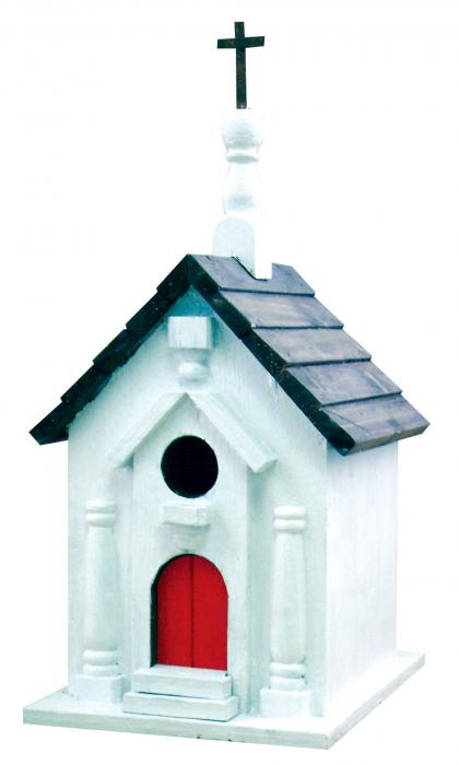 Songbird Essentials River Road Church Birdhouse