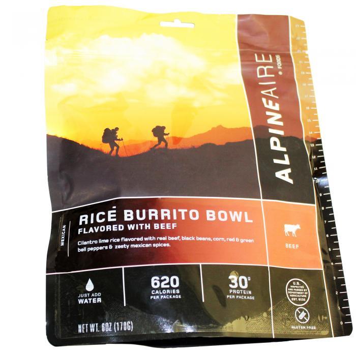 Beef & Rice Burrito Bowl Serves 2