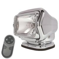 Golight HID Stryker Searchlight 12V w/ Wireless Handheld Remote - Chrome