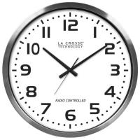 La Crosse Technology Atomic Time - Analog Wall Clocks