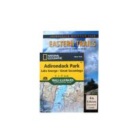 Adk Eastern Trails Gd & Map Pk
